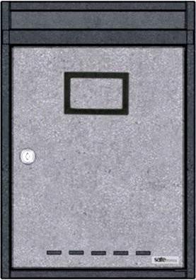 PRS – Vonku 2 kültéri, álló, sorolható postaláda