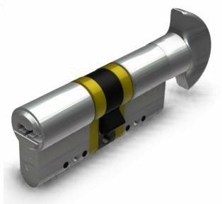 K5 - P forgatógombos hengerzárbetétek