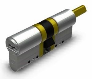 K5 - Q forgatógombos hengerzárbetétek hosszított tengellyel