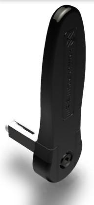 Securemme-5210 billenős portálzár kilincs