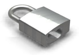 Securemme - 7550  Nagy biztonságú lakat
