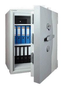 Wertheim  DWS 1600  nagy biztonságú irodai páncélszekrény passzív zárral