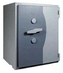 Wertheim  EWS - KB 1000  nagy biztonságú páncélszekrény passzív zárral