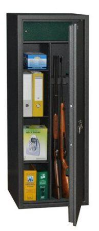 SAFEtronics - Iveta 5K magas MABISZ tanúsítványú fegyverszekrény  plusz pakoló résszel