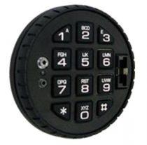 Tecnosicurezza - FÉMHÁZAS forgatható billentyűzet elektronikus számzárakhoz