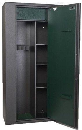SAFEtronics - MAXI 10 K erős, kombinált szimplafalú fegyverszekrény