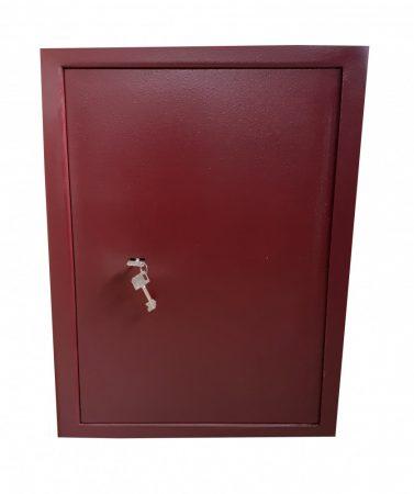 Duplafalú bútorszéf kulcsos zárral