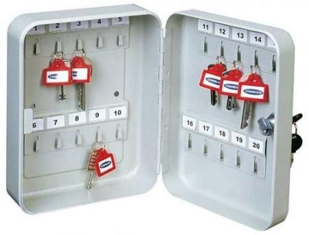 TS 20  kulcskazetta számozott akasztókkal