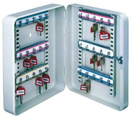 Comsafe - SK 30  kulcskazetta állítható akasztókkal