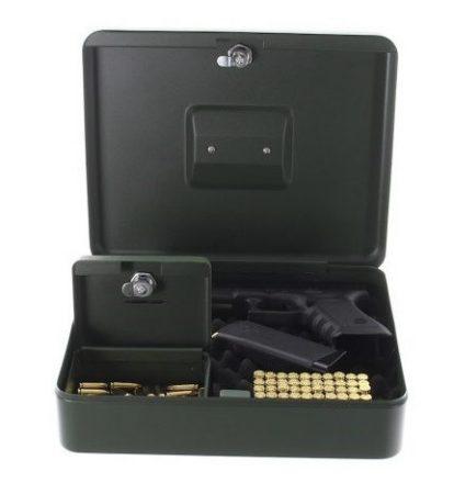 Comsafe  - GUNbox nagyméretű pisztolytartó kazetta