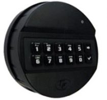 Tecnosicurezza - ABS fekete billentyűzet elektronikus számzárakhoz