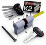 K2 - Q forgatógombos, hosszított tengellyel